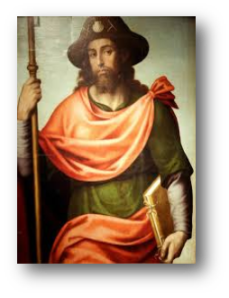 St. James the Pilgrim by Juan de Juanes